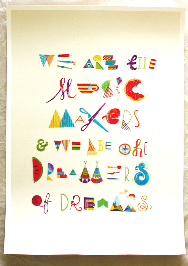 we are the music makers and the makers of dreams