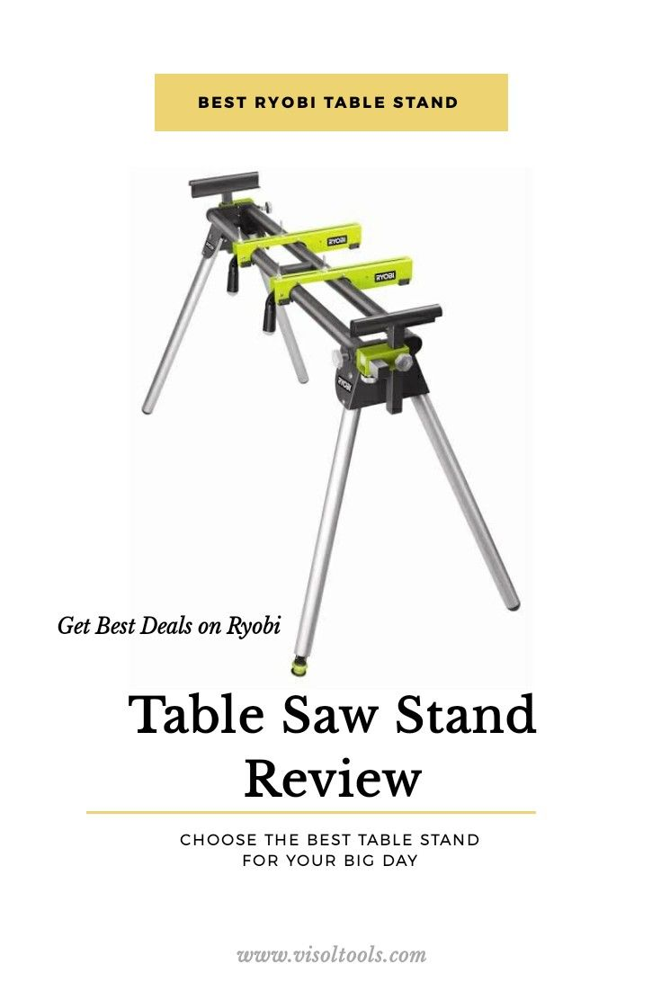 Best Ryobi table saw review on visoltools.com in 2020 ...