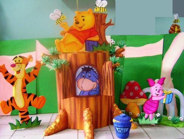 decoracion de oso winnie de pooh buscar con google