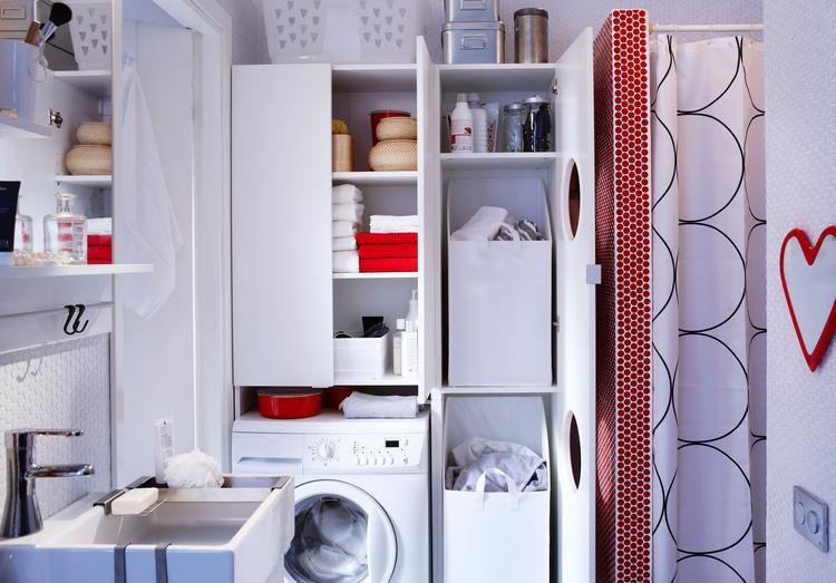 Ikea lillangen waschmaschinenschrank elegant