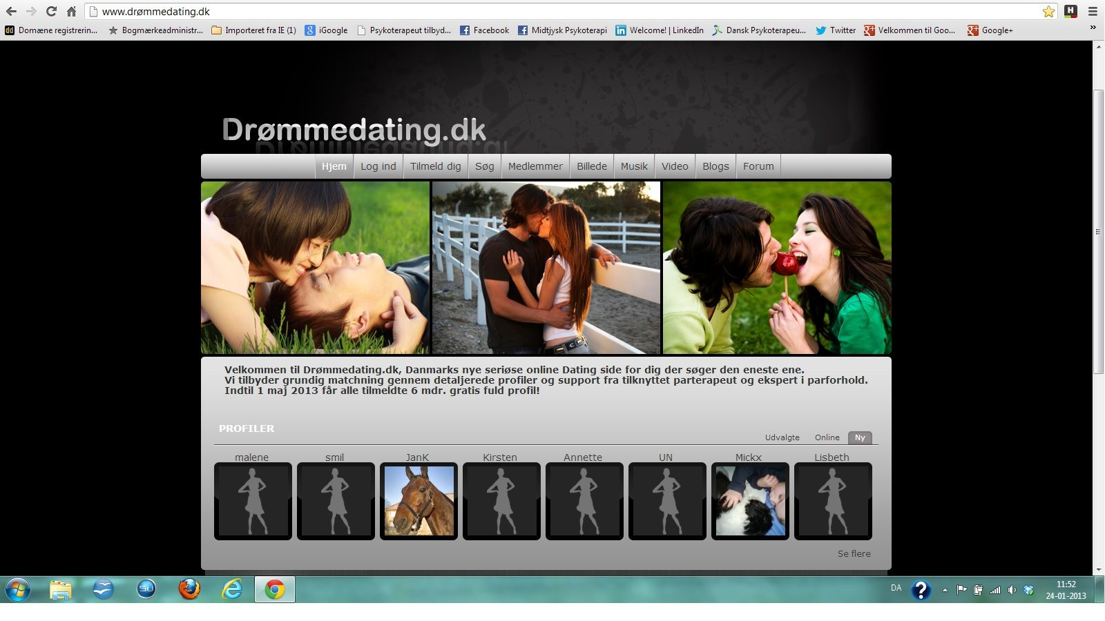 Gratis internet dating site