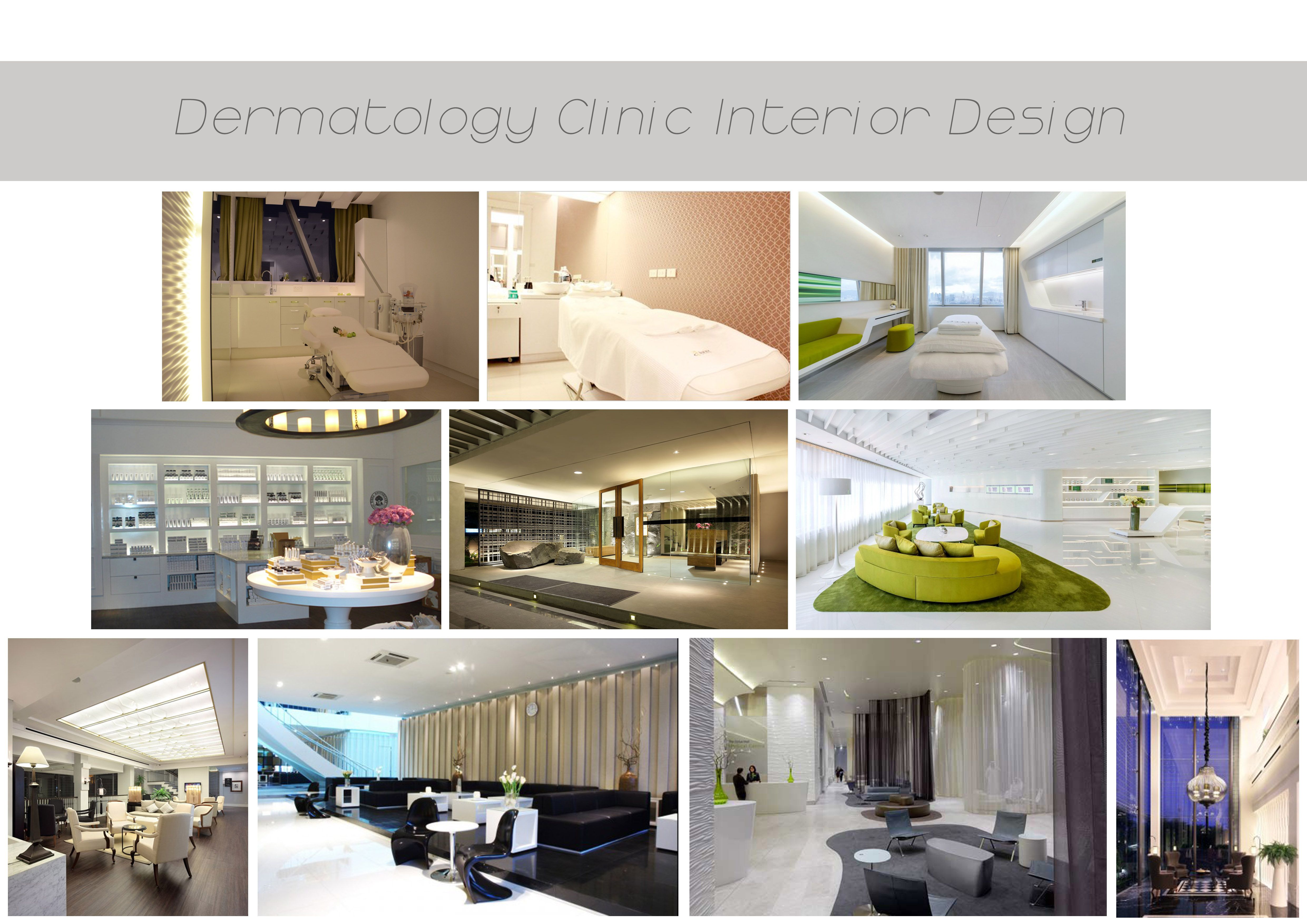 Dermatology clinic interior design ideas ideas for the house pinterest clinic interior for Dermatology clinic interior design