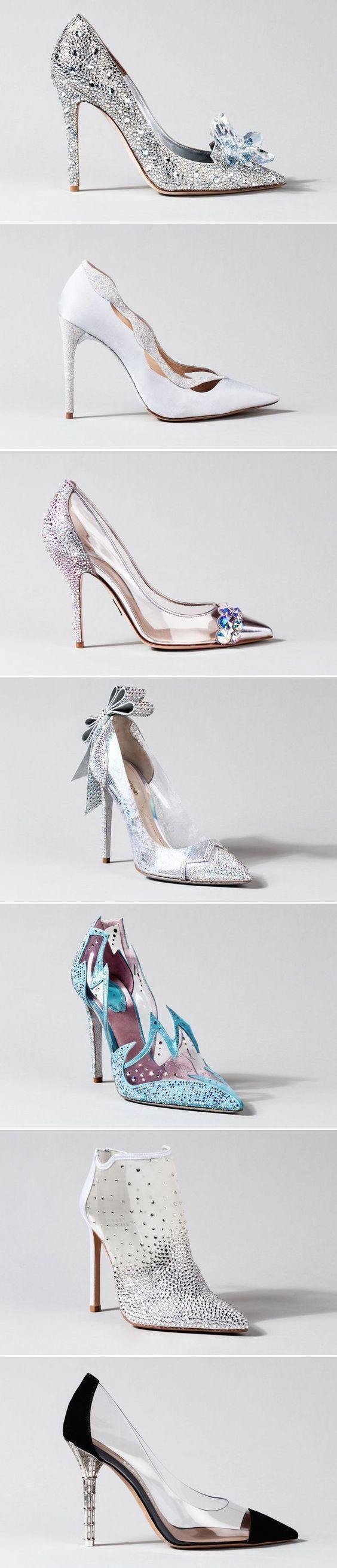 15 Stunning CinderellaInspired Wedding Shoes Bling