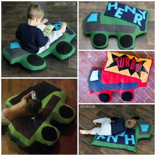 Mega Dump Truck Pillow Sewing Pattern | Dump truck, Sewing patterns ...