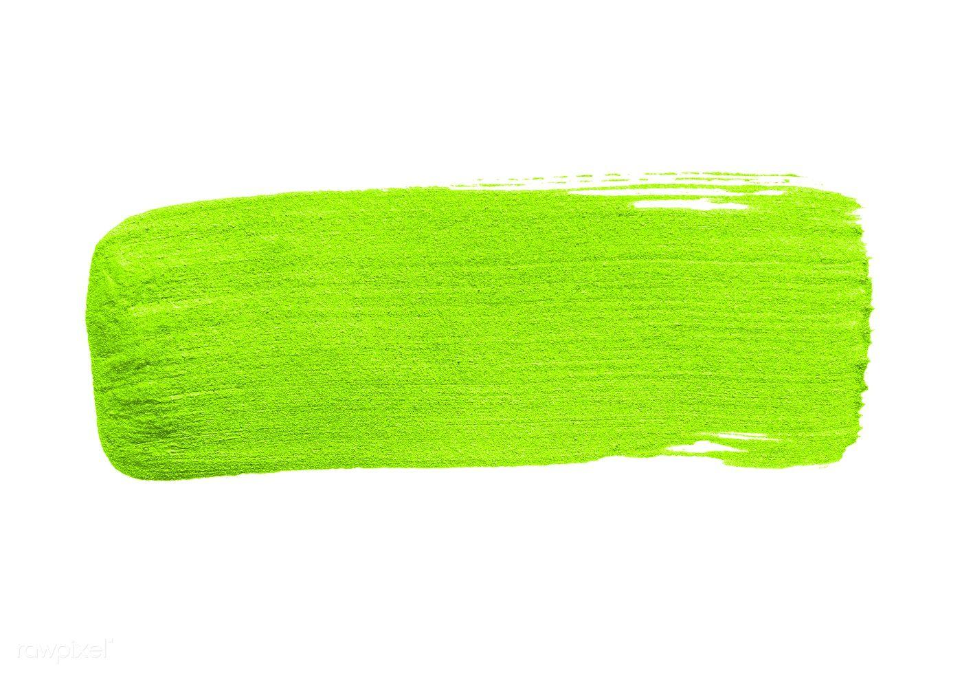 Download Premium Psd Of Neon Lime Green Brush Stroke 552699 Brush Strokes Watercolour Texture Background Blue Flower Wallpaper