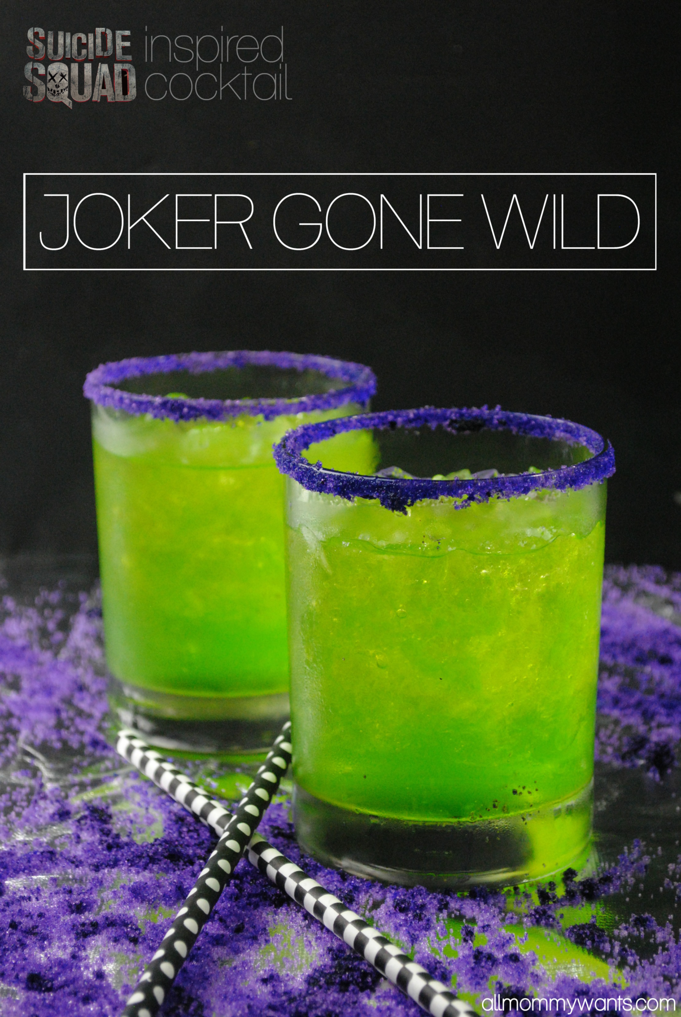 0122000 Did you know that Jared Leto acted just like his character The Joker during the entire filming ofSuicide Squad? He even sent costar Margot Robbie a love letter. And a rat… You will love this Joker-inspired cocktail. It's got a little crazy and lo