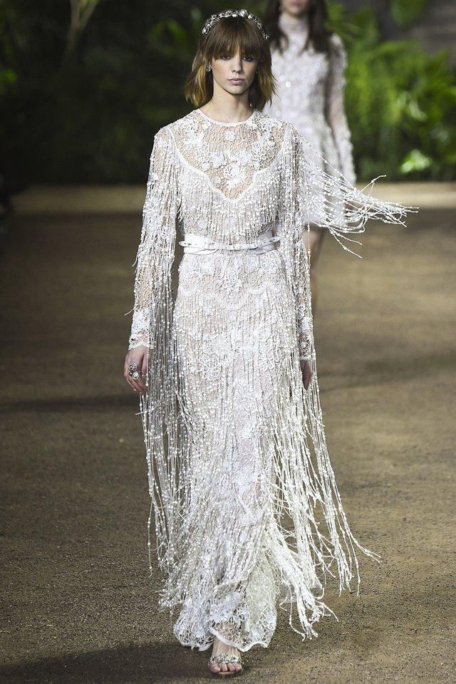 The festival girl just got a reason to settle down from Elie Saab Haute Couture