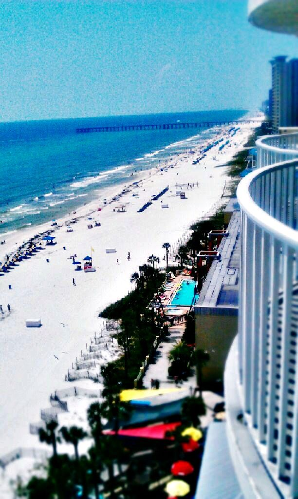 Balcony View At Legacy By The Sea In Panama City Beach