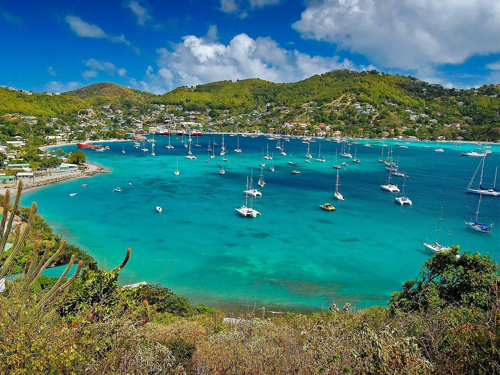Bequai Grenadine Islands.....cruising on a yacht