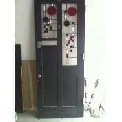 1930s Art Deco Front Door