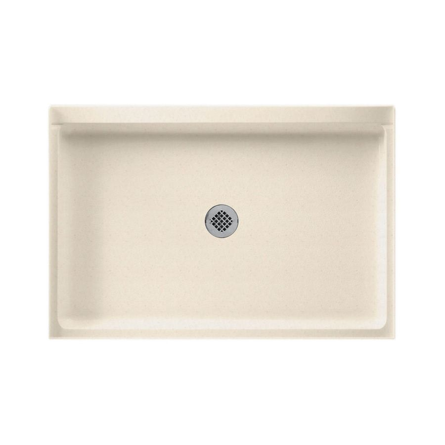 Swanstone Tahiti Sand Solid Surface Shower Base Common 32 In W X