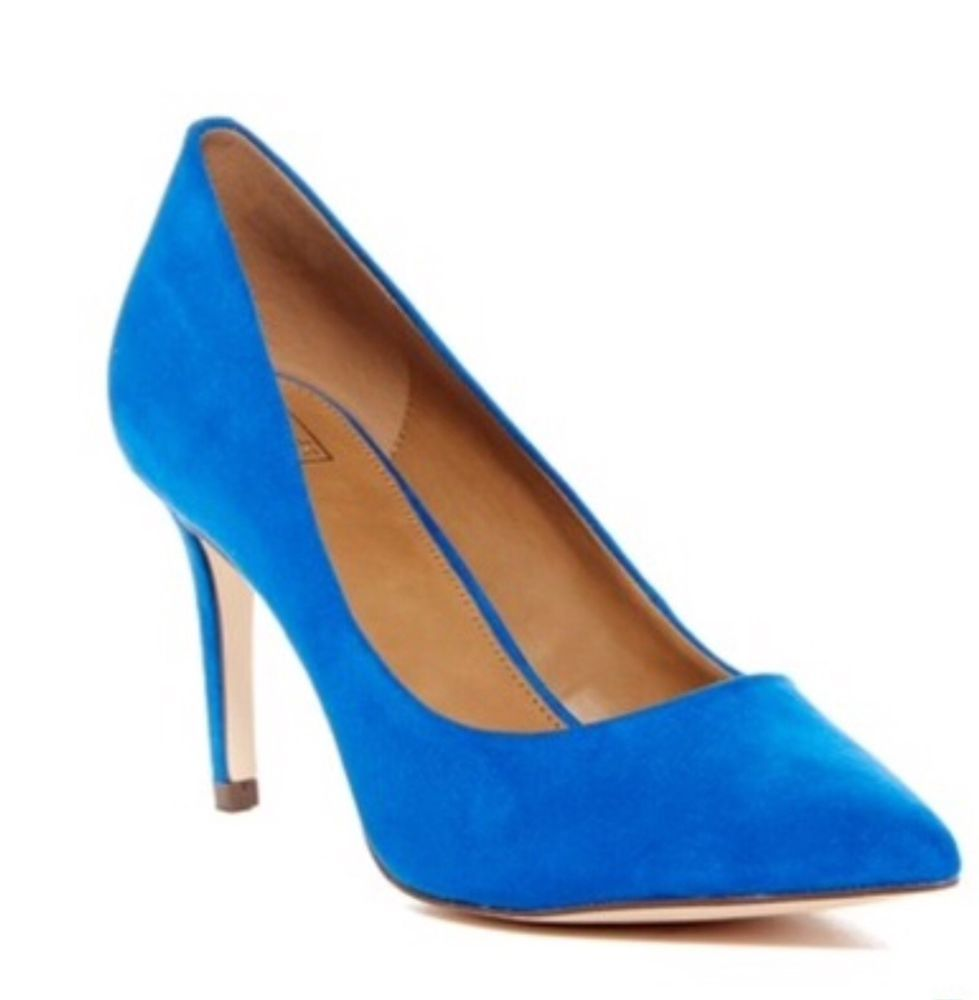 b93a2105b30 14th   Union Maty Pump (Faux Blue Suede) Size 8.5M  fashion  clothing   shoes  accessories  womensshoes  heels (ebay link)