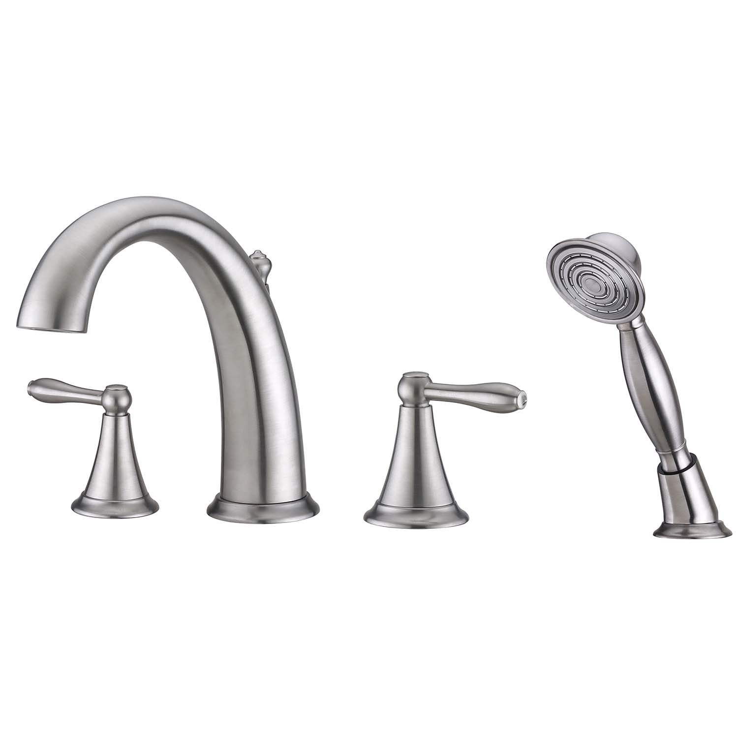 Ultra Faucets Uf65243 Contour Collection Two Handle Roman Tub