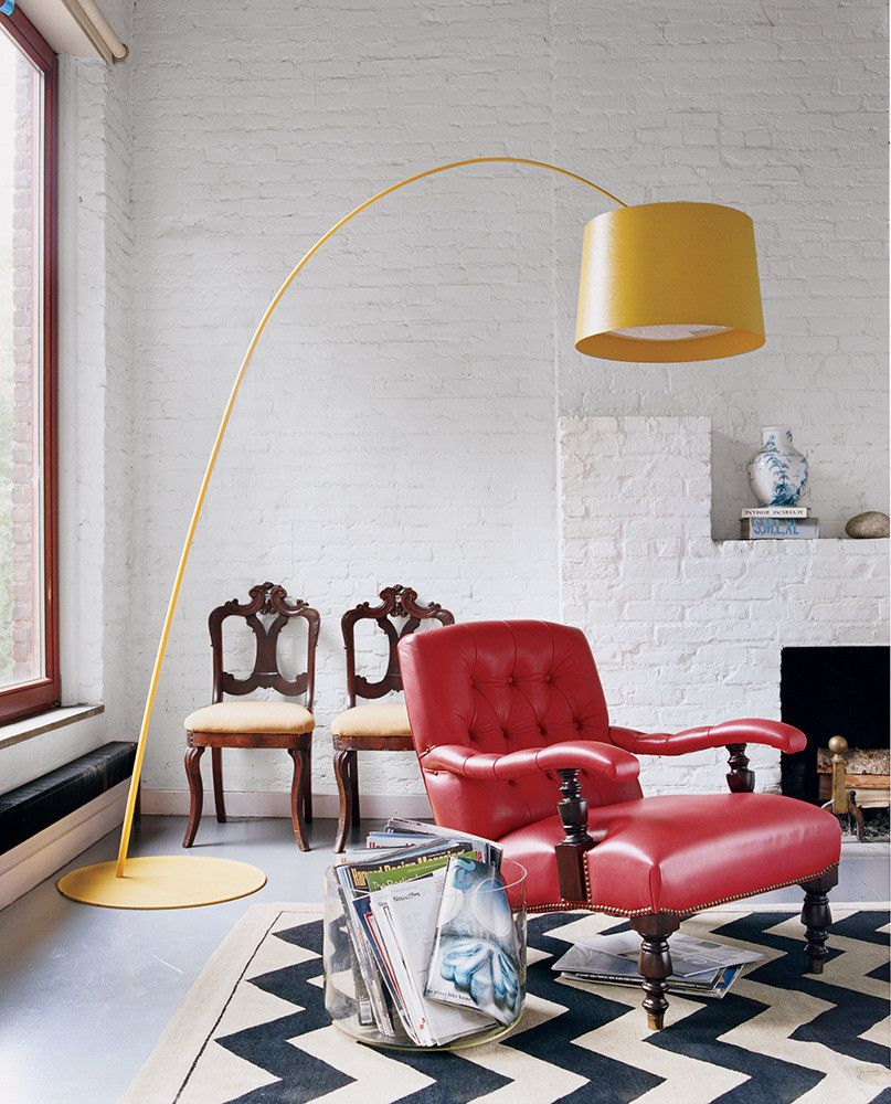 why you should be decorating with bright colors | Chili oil, Red ...