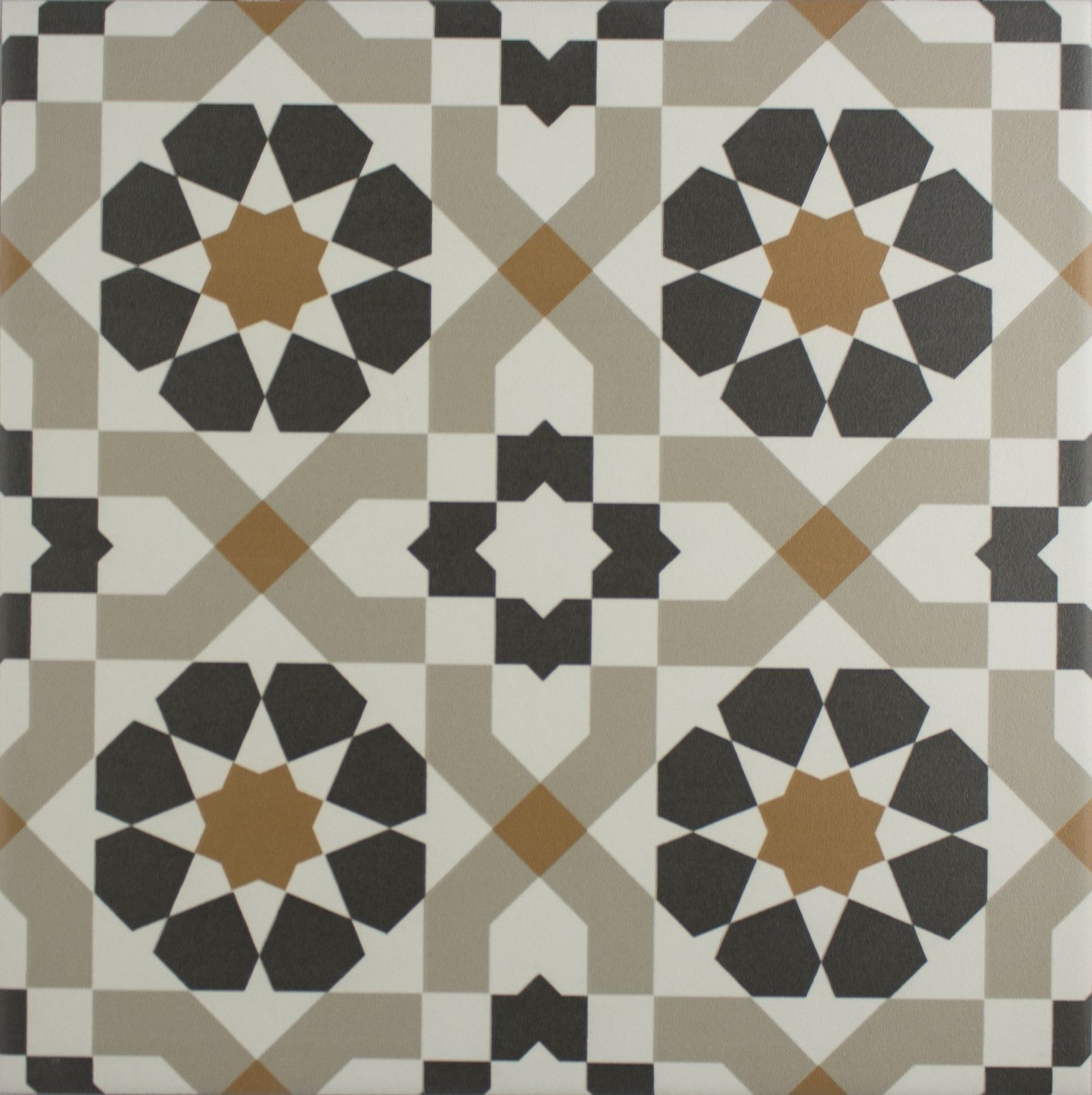 Marrakech Catarina Copper 4 Pattern Floor Tile | Marrakech ...