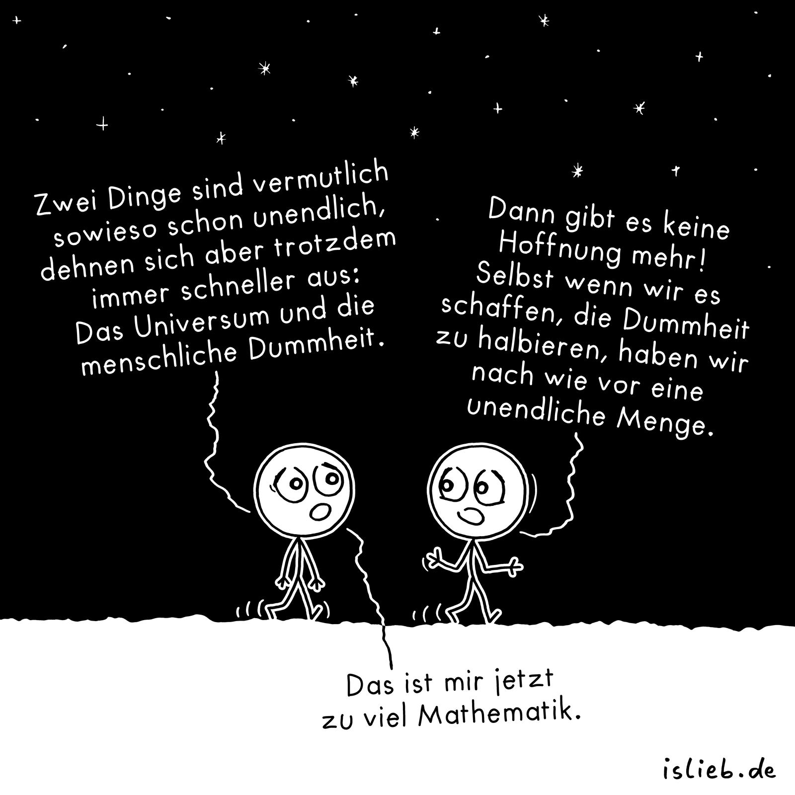 #unendlich #universum #menschheit #dummheit #mathematik # ...