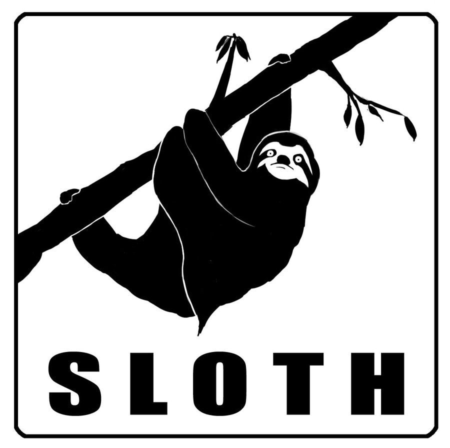Sloth Silhouette Google Search 1302pictograms Sloth