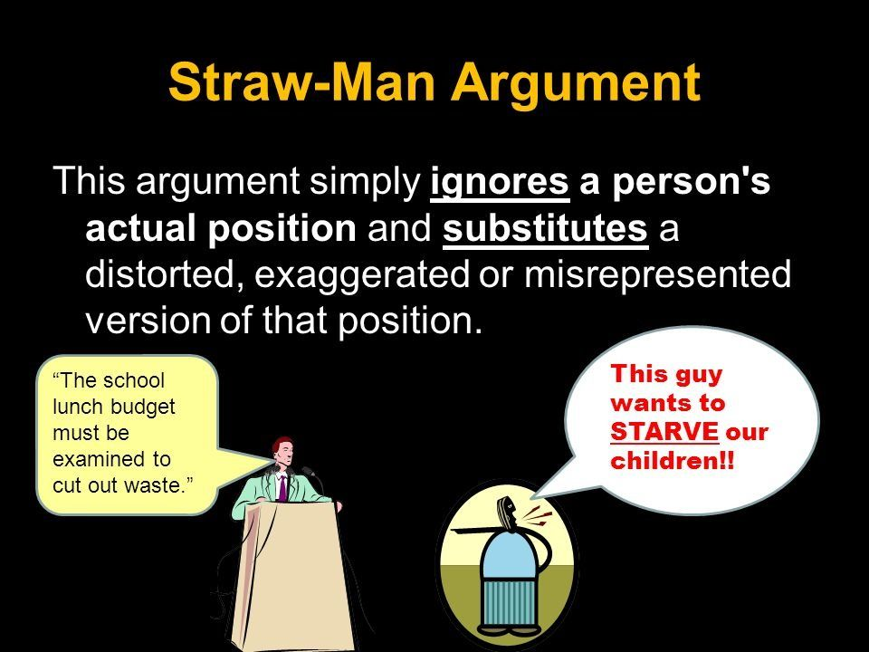 an example of the  unfortunately  way too familiar  u0026quot straw