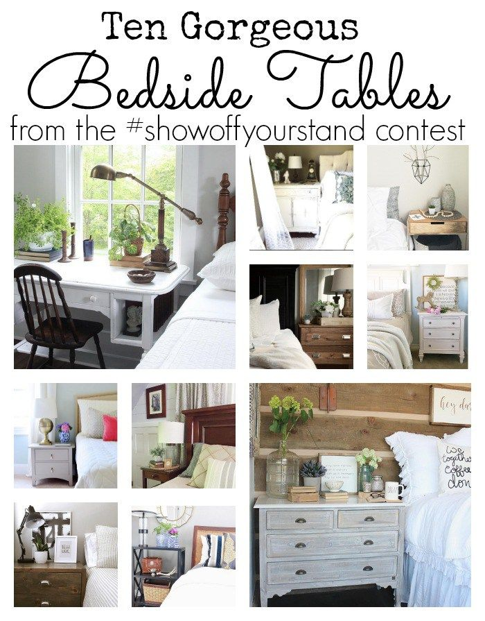 Smart Bedside Table: Ten Gorgeous Bedside Tables (With Images)