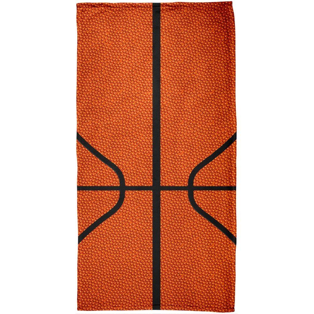 Basketball All Over Beach Towel Oldglory