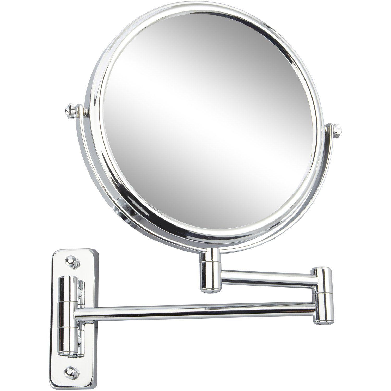 Miroir Grossissant X 10 Rond A Fixer Percage H 20 X L 20 X P 3 5cm Constance Mirror Sink Home Decor