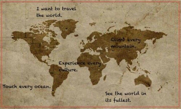 Travel the world ... | Quotes | Pinterest