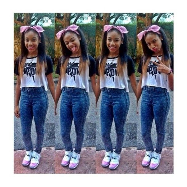 1db2c86511dd78 cute outfits with jordans and jeans - Google Search