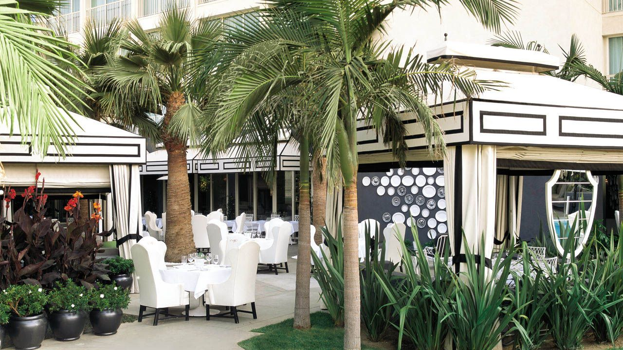 Southern California Luxury Resorts: Whist Restaurant At Santa Monica Beach Resort