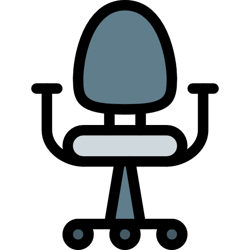 Office Chair Free Vector Icons Designed By Pixel Perfect Office Chair Chair Vector Icon Design