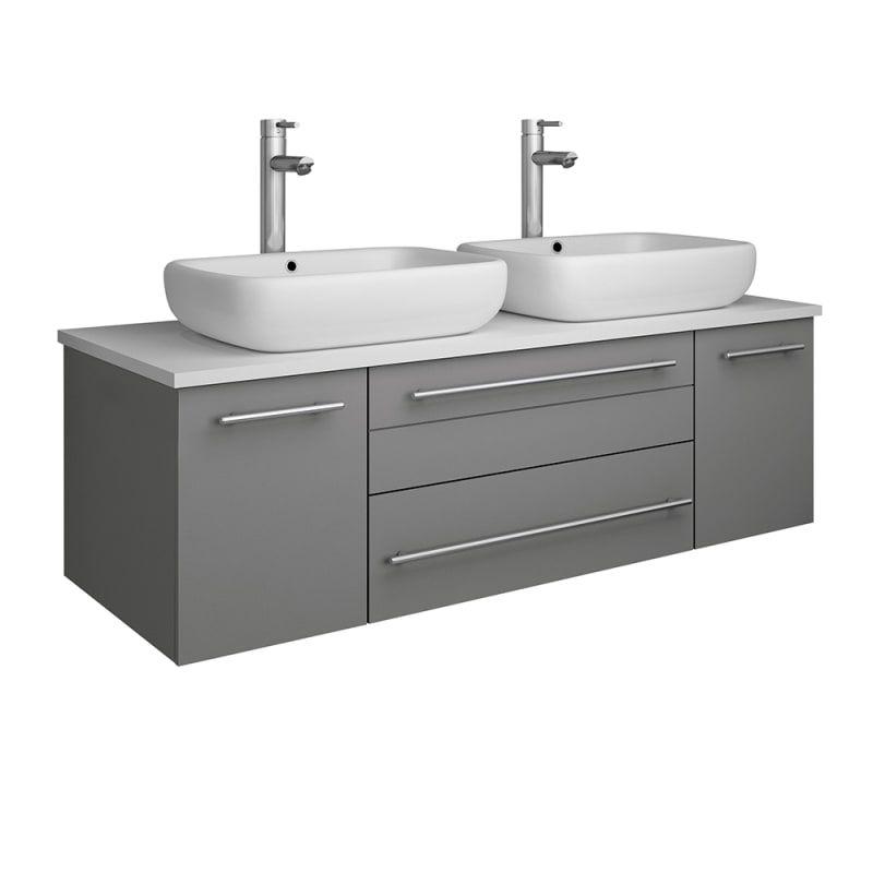 22+ Wall mounted bathroom cabinet gray type