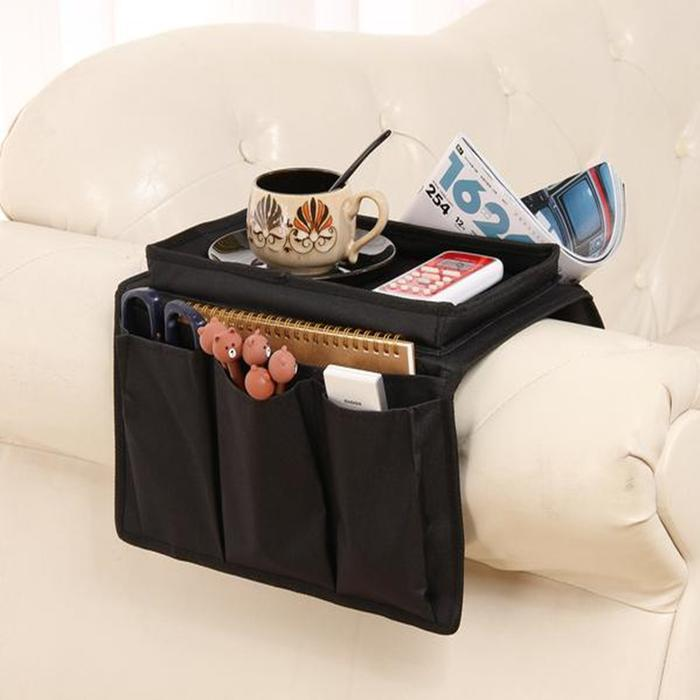 Large Multi Pocket Sofa Storage Bag