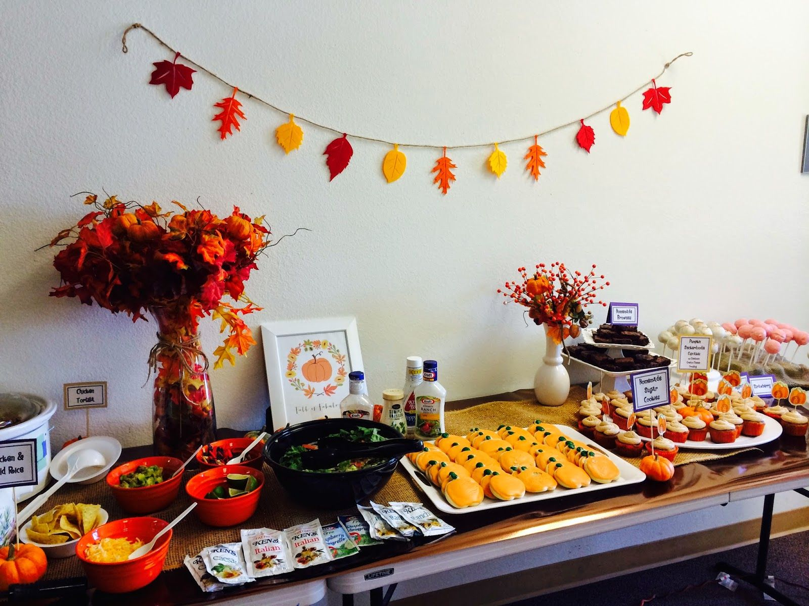 marci coombs: fall teacher's luncheon | fall | pinterest | teacher