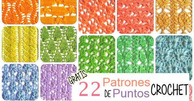Colección de 22 patrones gratis para tejer con ganchillo | Crochet ...