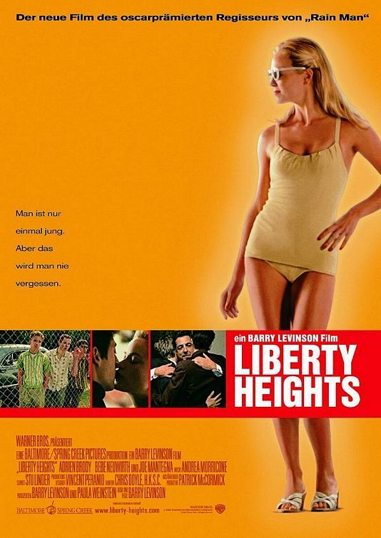 Liberty Heights , star... Adrien Brody Movies 1999