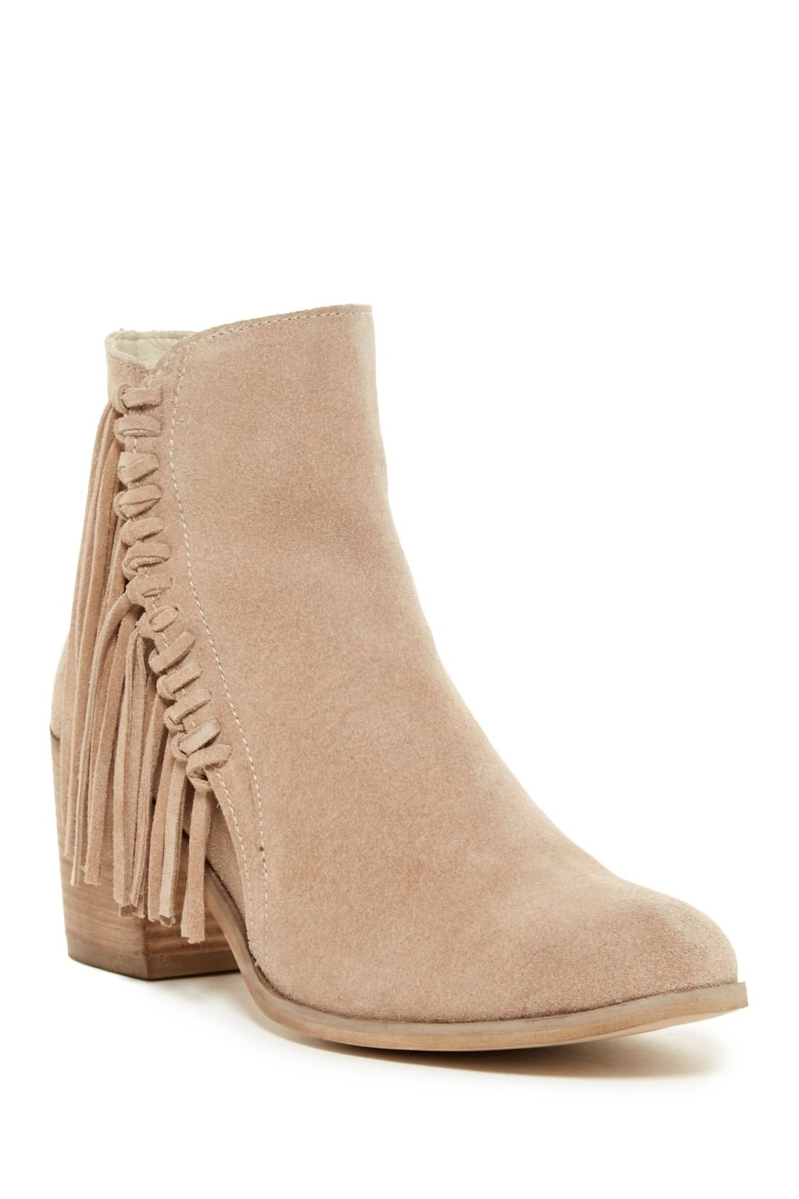 1953b3348a6 Love! Kenneth Cole Reaction Rotini Fringe Ankle Boots | Shoes for ...