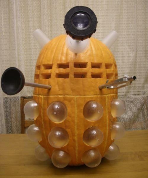 Dalek pumpkin = Pure win