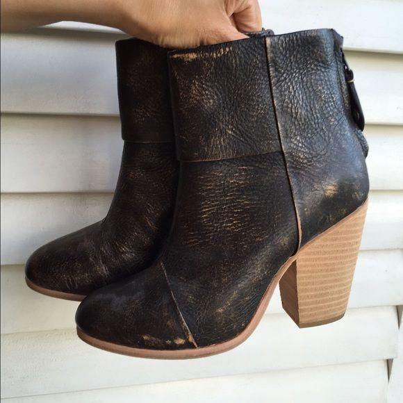Rag & Bone Distressed Ankle Boots tumblr online YvBvKZe