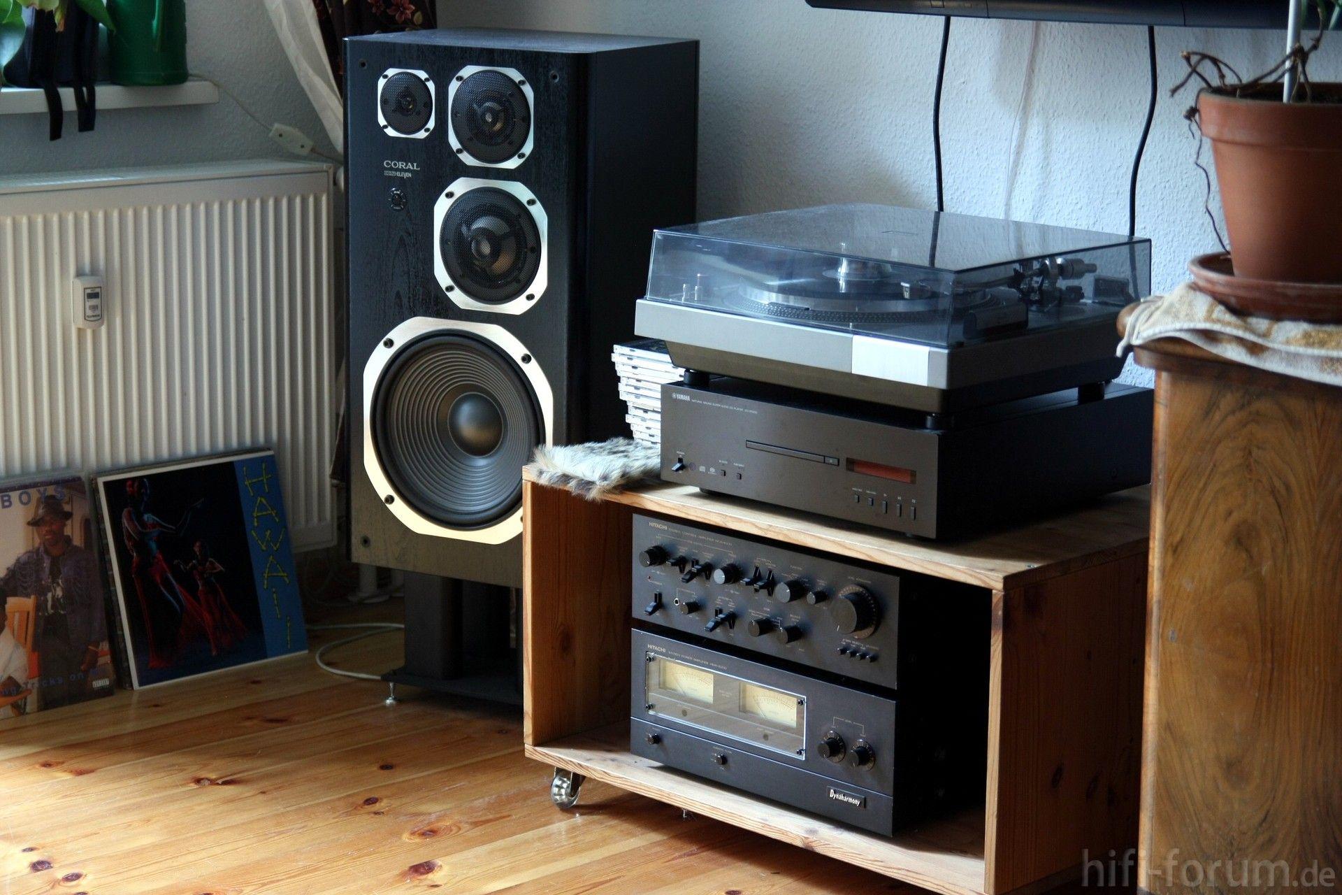 Coral Dx Eleven Audiophile Listening Room Turn Table Vinyl Hifi