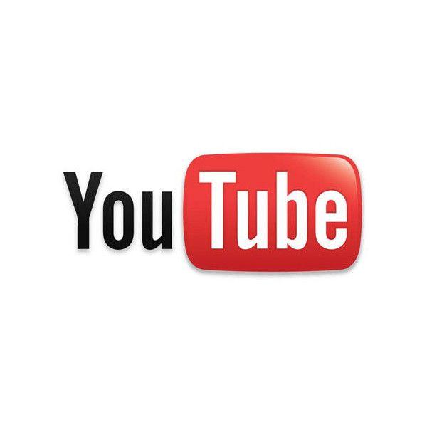 youtube logo ❤ liked on Polyvore