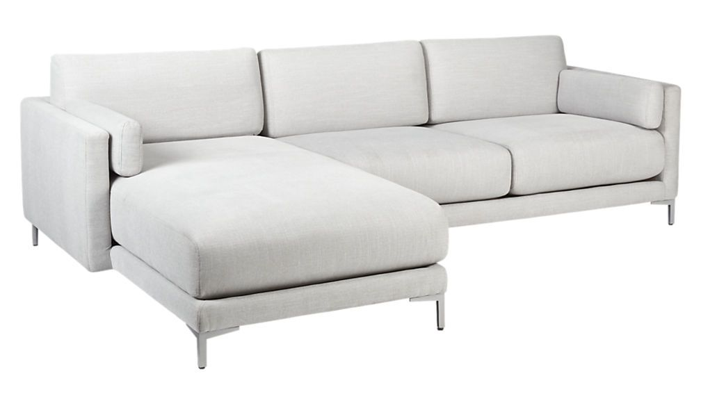 Surprising District Dove 2 Piece Sectional Sofa Carmel Sectional Short Links Chair Design For Home Short Linksinfo
