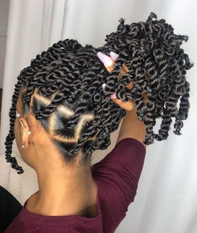 20+ Natural hair braid styles ideas
