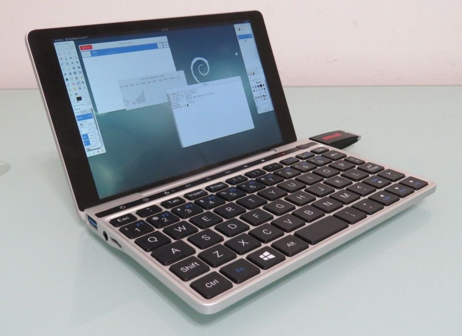 Linux on the GPD Pocket 2 (Ubuntu Debian and Fedora