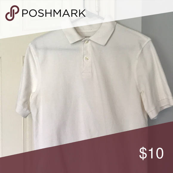 Merona Men S White Polo Shirt White Polo Shirt Polo Shirt Clothes Design
