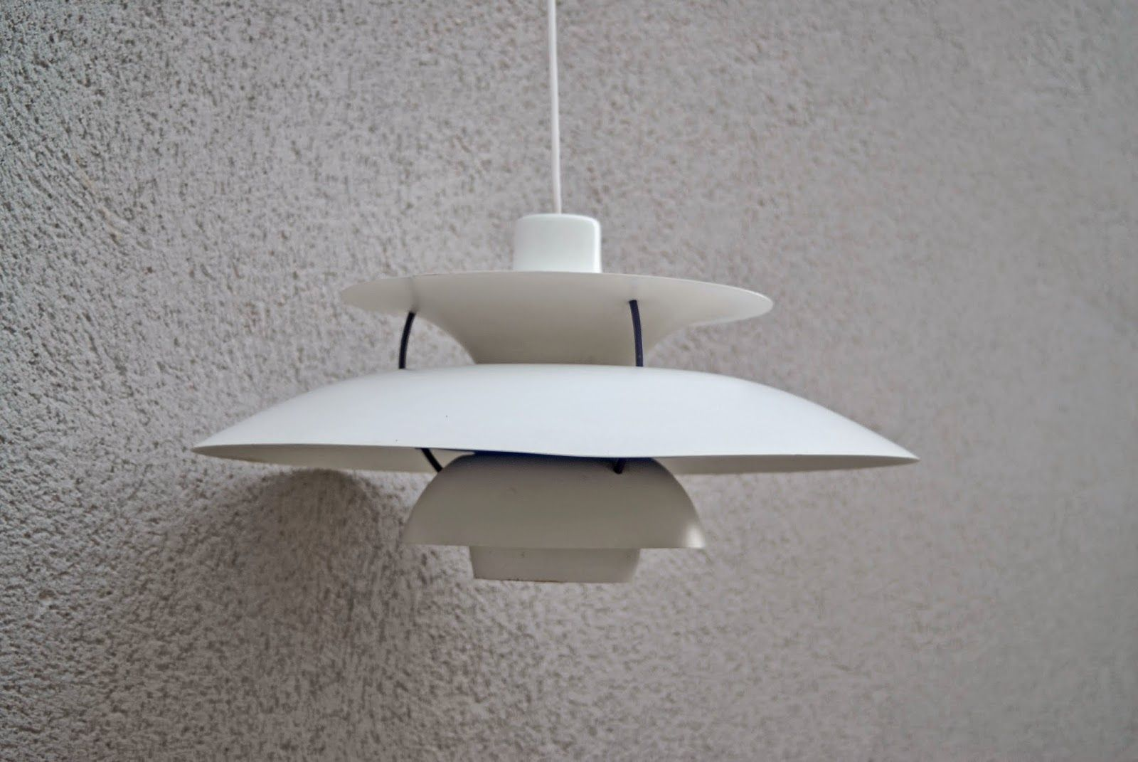 Lámpara PH5 diseño Poul Henningse para Louis Poulsen, Dinamarca años ...