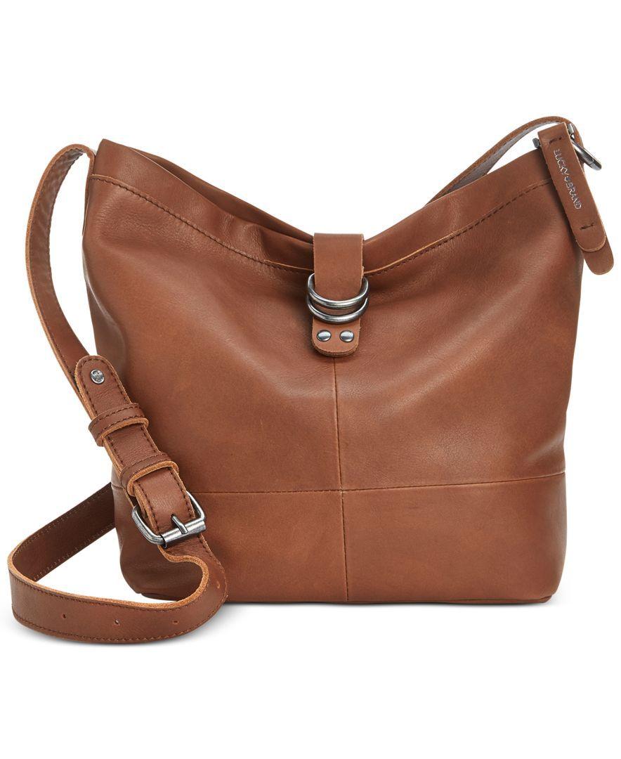 Lucky Brand Dempsey Crossbody Bucket Handbags Accessories Macy S