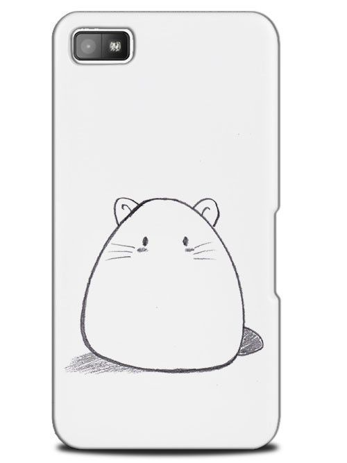 Cute Bunny Rabbit Hamster Sketch Drawing Case Cover Design for ...