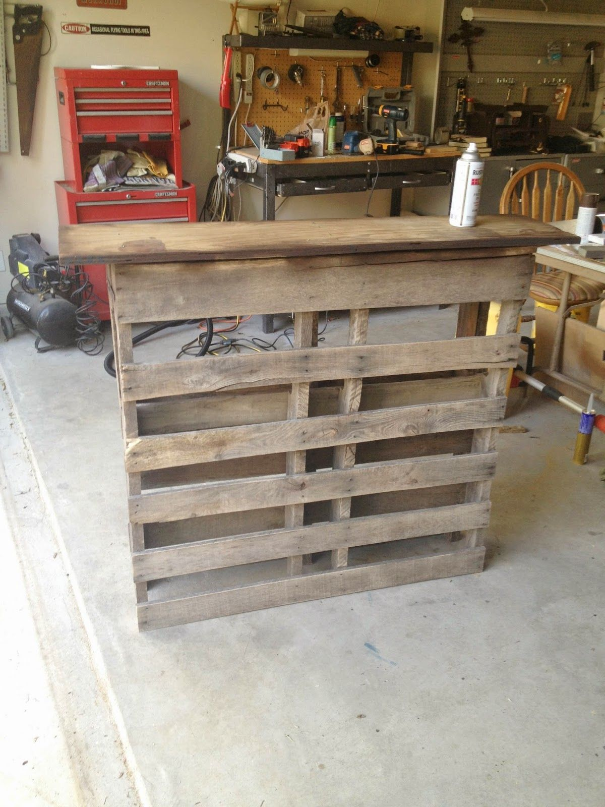 Pallet bar above ground pool decor above ground pool for How to make a tiki bar with pallets