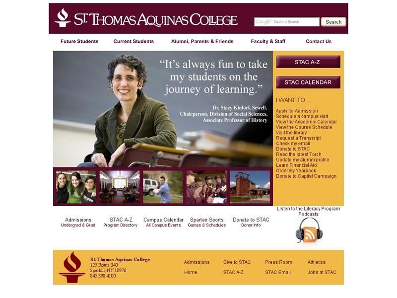 St. Thomas Aquinas College (With images) Thomas aquinas