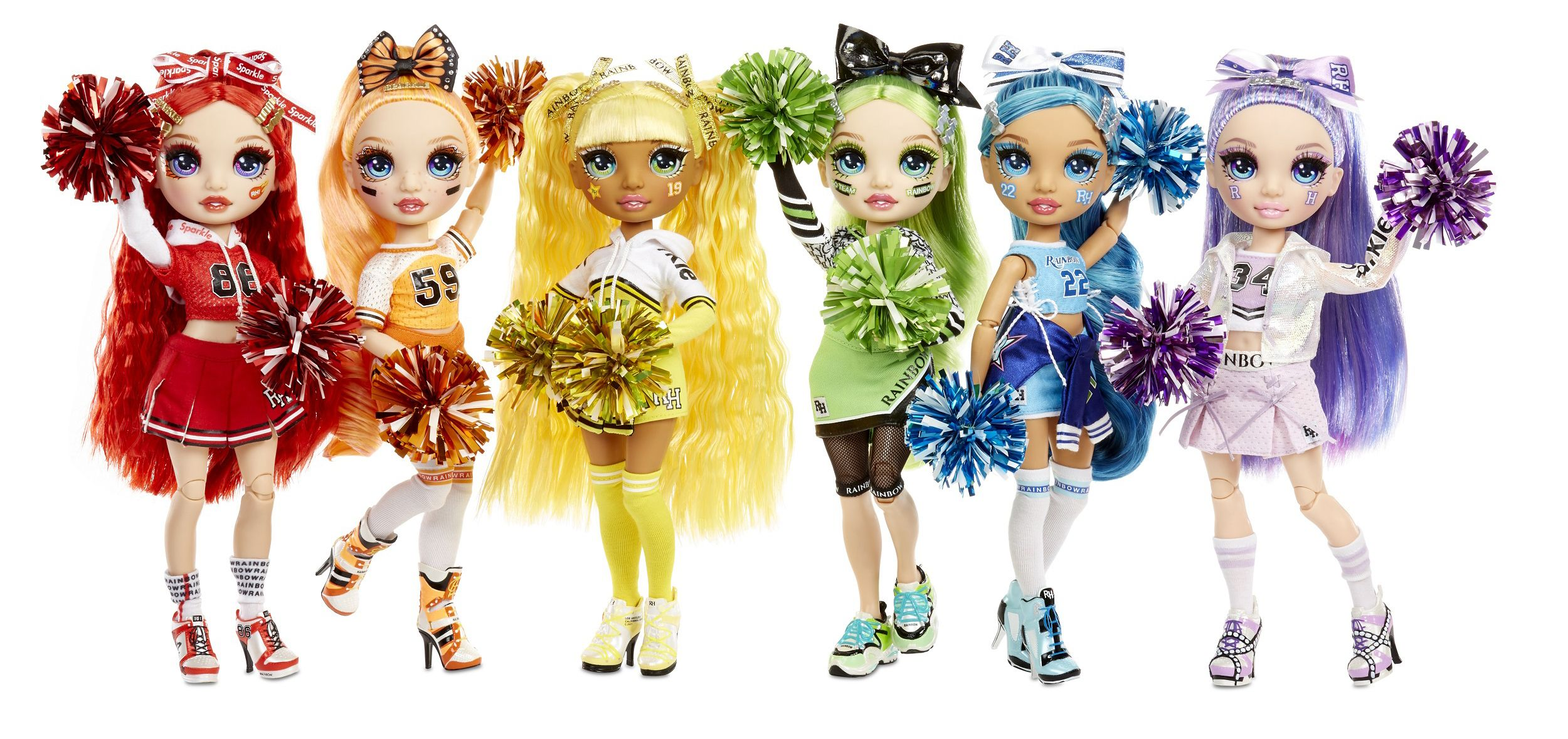 Rainbow High Cheer Fashion Dolls Dolls Rainbow