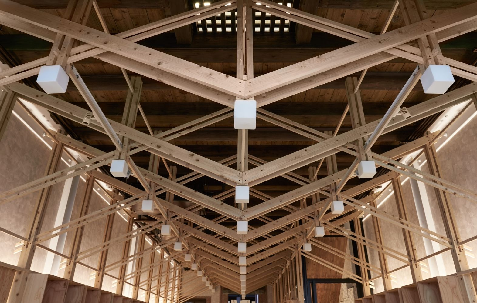 Gallery Of The Inverted Truss B P Architects 31 Roof Truss Design Steel Trusses Timber Structure